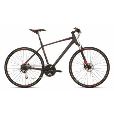 """Superior RX 580 cross kerékpár [16.5"""", szürke/fekete/piros]"""