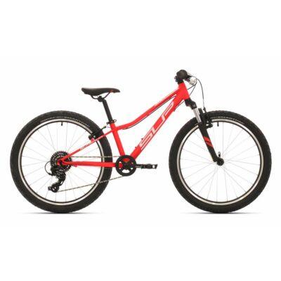 """Superior '19 Racer XC 24 24""""-os kerékpár [11"""", matt piros/fehér]"""