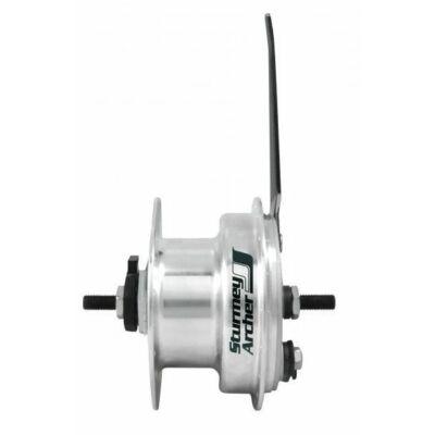 Sturmey Archer XL-FDD dinamós, 90mm dobfékes agydinamó [36 L, 2.4 W]