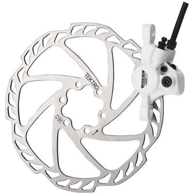 Tárcsafék TEKTRO AURIGA COMP 180 mm rotor első fehér