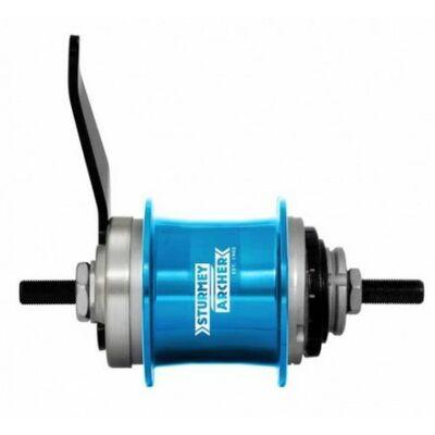 Sturmey Archer S1C kontrafékes hátsó agy [kék, 36 L]