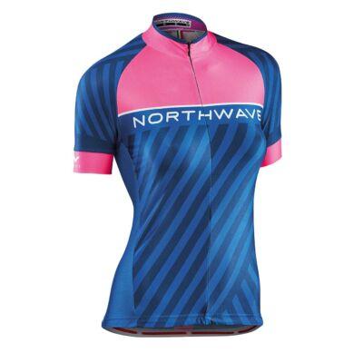 Mez NORTHWAVE LOGO3 WMN női rövid XL pink fluo-kék