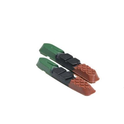Fékbetét BIKEFUN MTB 72mm színes