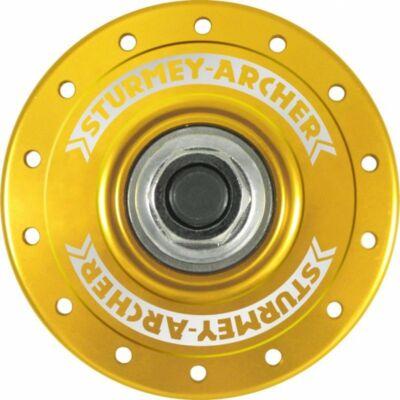 Sturmey Archer HBT pálya hátsó agy [arany, 36 L]